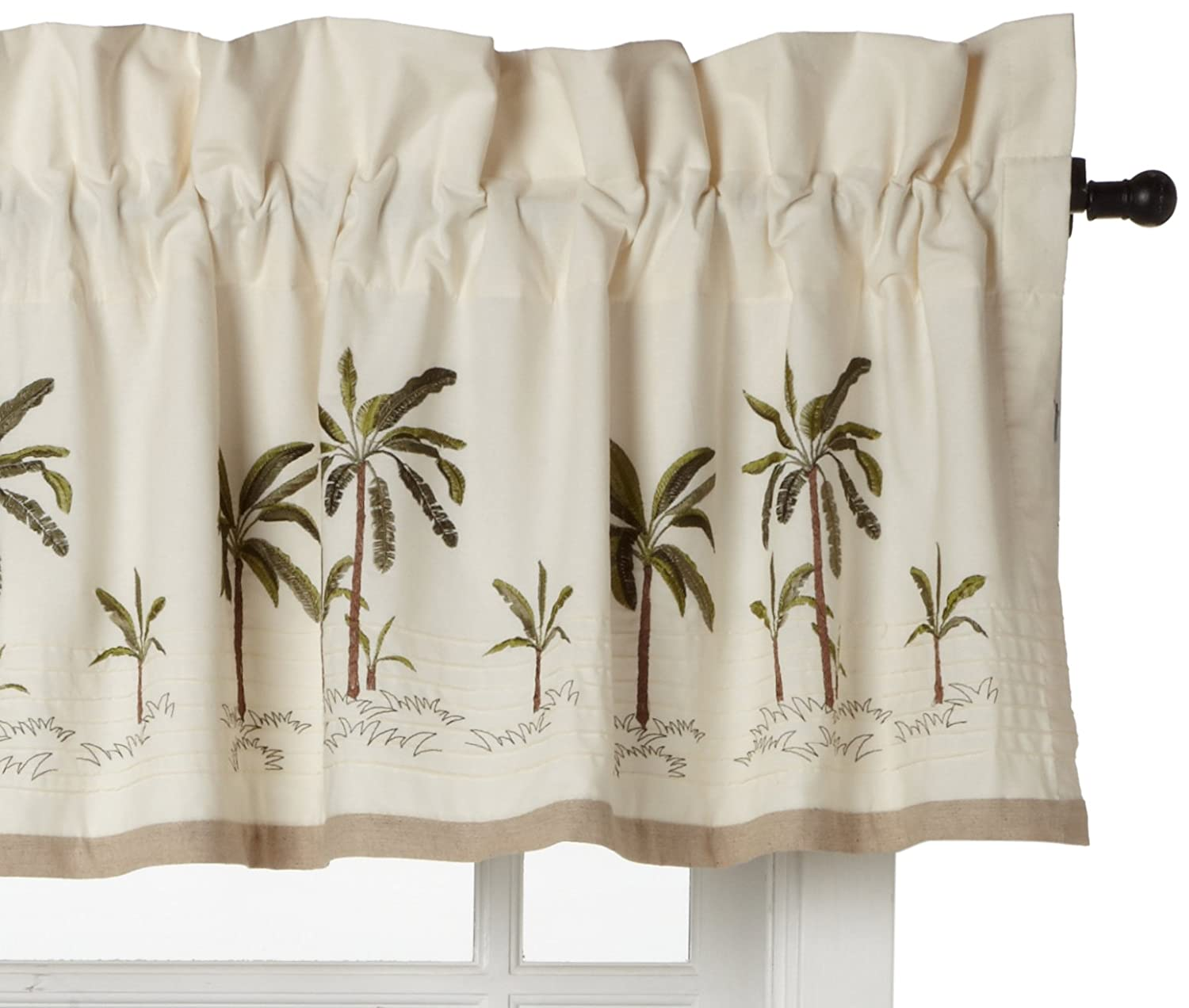 Palm shower curtain - Palm Shower Curtain 55