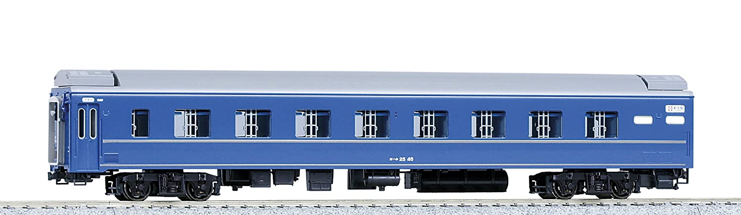 Kato HO Gauge Limited Express Sleeping Passenger Car Series 24 Type Ohane25-0 (Kato PlaRail Model Train) (japan import)