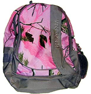Amazon.com : Remington Hunting Camo Backpack Girls Pink – Realtree ...