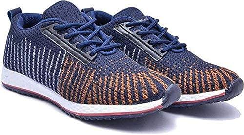 huge selection of 580fc 24192 Foot Locker Men s Running Sports Shoes (6, Navy)