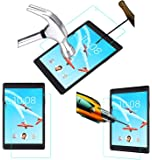 Acm Tempered Glass Screenguard Compatible with Lenovo Tab 4 8 Screen Guard Scratch Protector