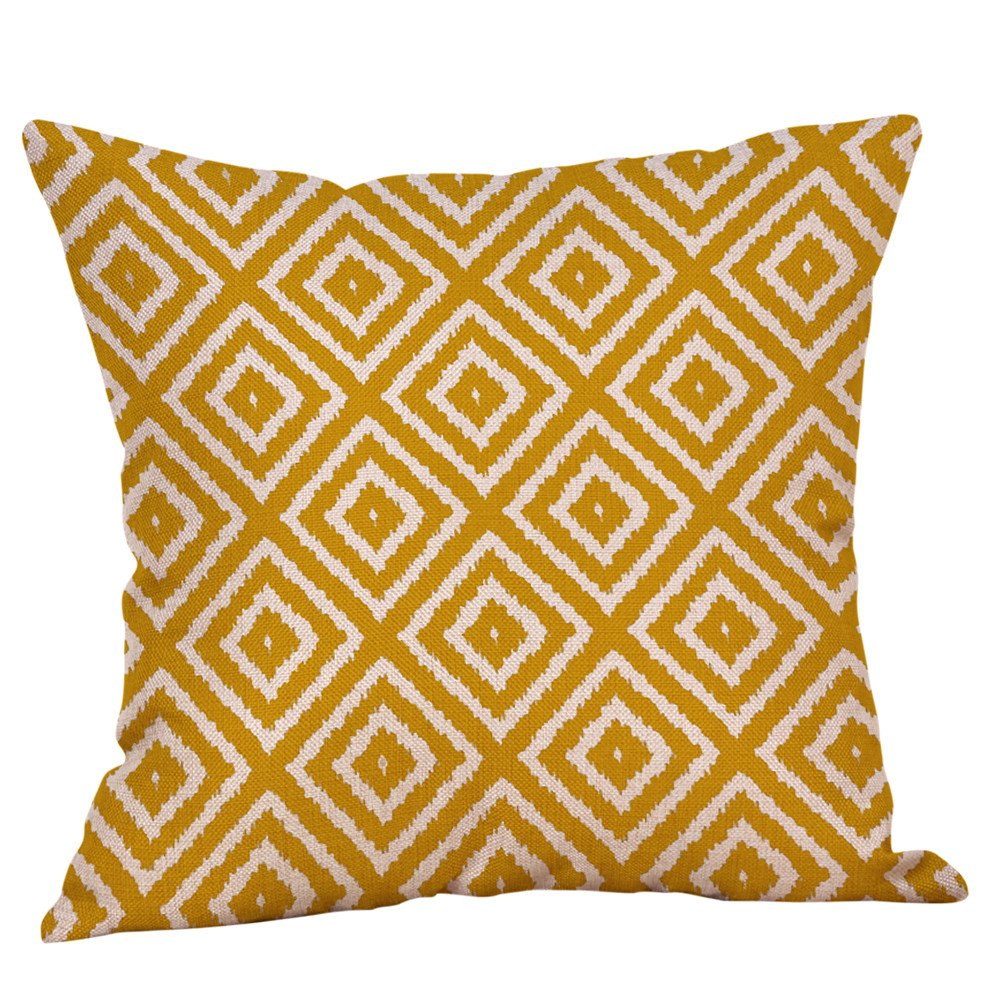 Weiliru Decorative Throw Pillow Covers with Pom-poms Soft Cushion Covers 20 X 20 for Couch Bedroom Car by Weiliru (Image #1)