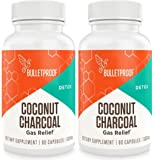 Bulletproof Upgraded Coconut Charcoal Capsules - 90 Ct.(500 mg) (Pack of 2)
