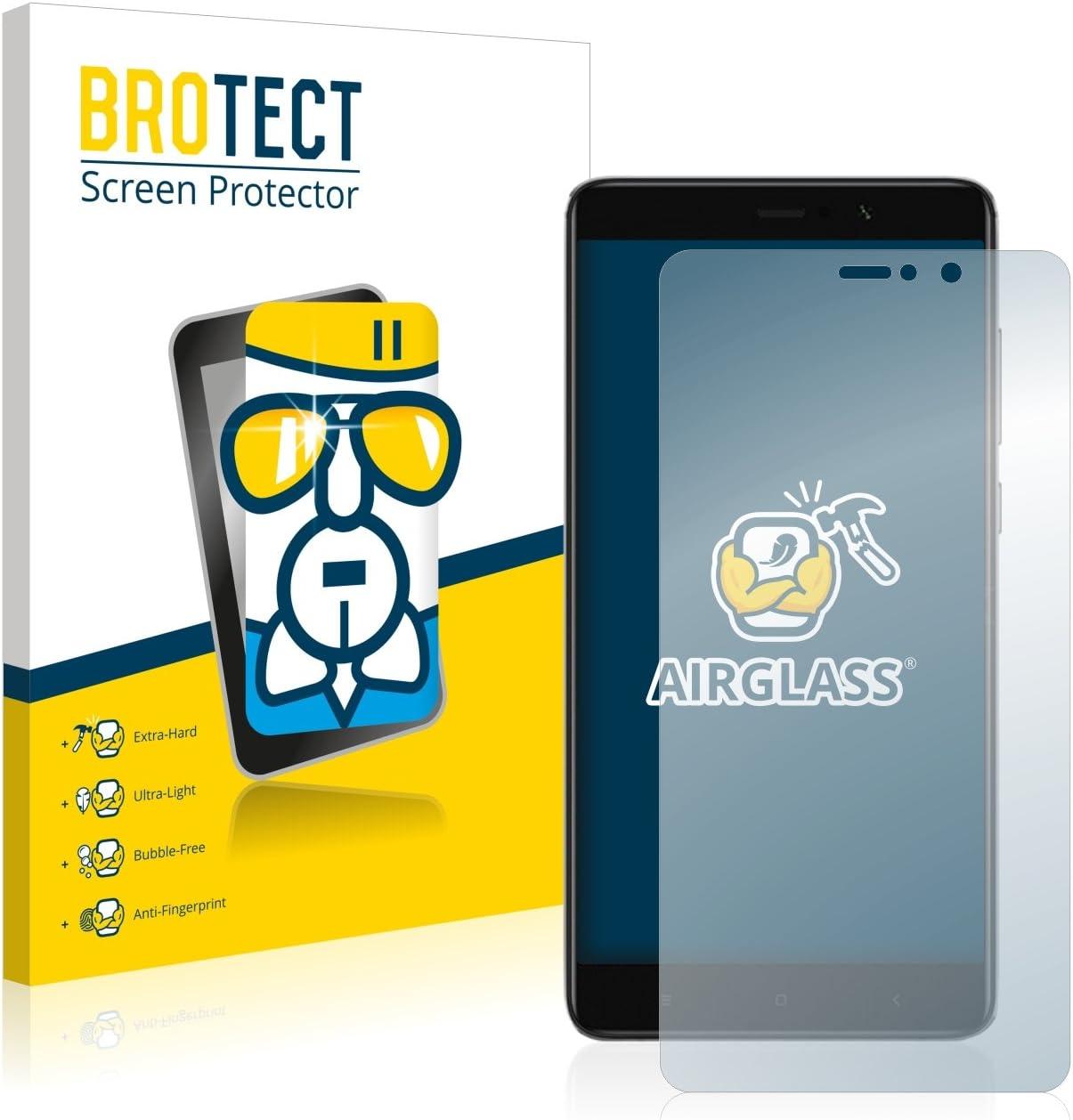 BROTECT Protector Pantalla Cristal Compatible con Xiaomi Mi 5S Plus Protector Pantalla Vidrio Dureza 9H AirGlass