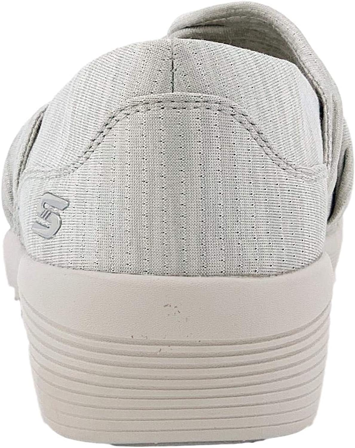 Skechers Arya Knot My Problem Womens Slip On Skimmer Sneaker Taupe