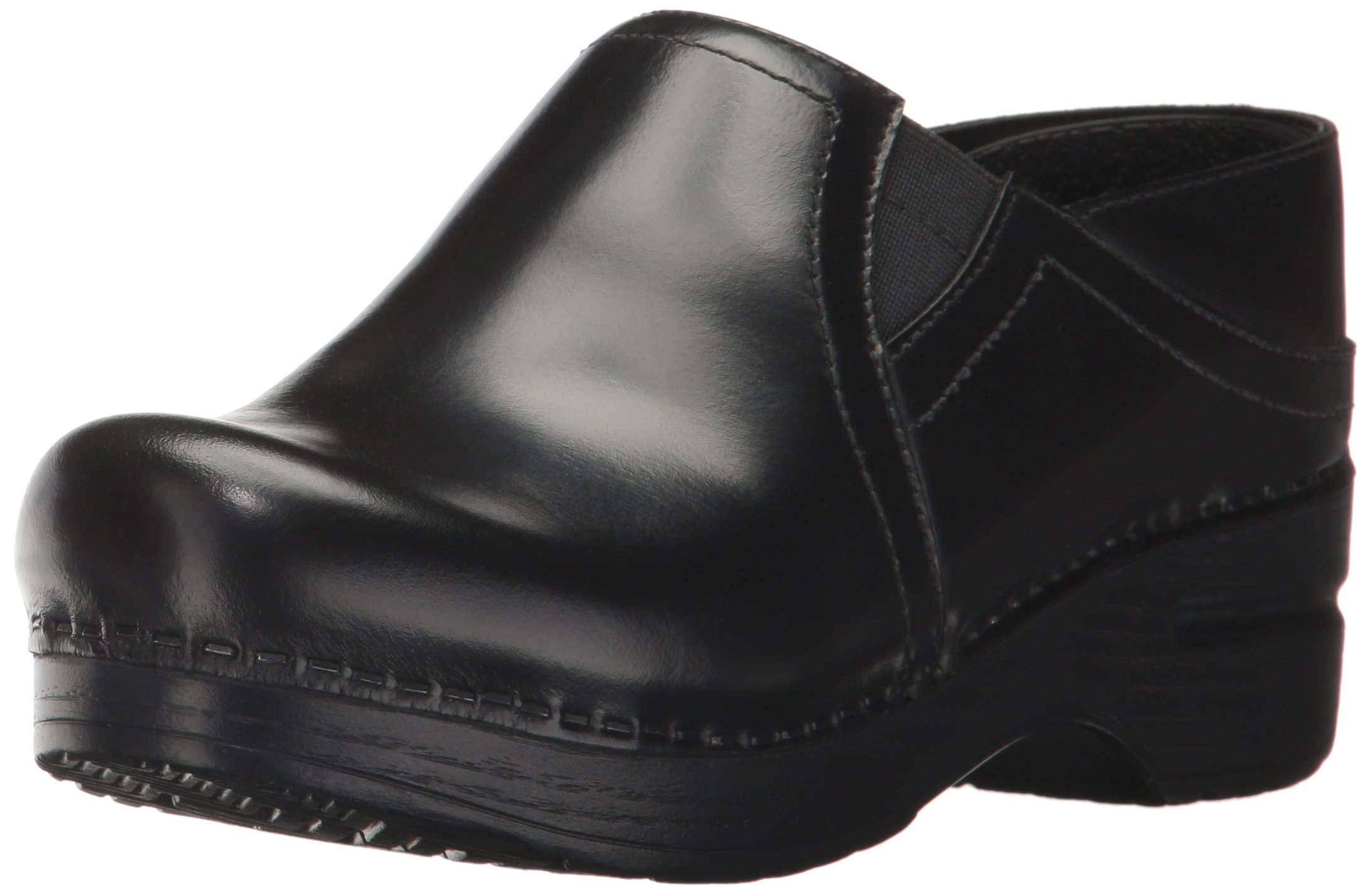 Dansko Women's Pepper Mule, Black Cabrio, 39 EU/8.5-9 M US