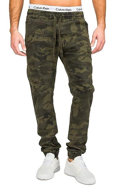 Pantalones Vaqueros de los Hombres Pantalones Militares de ...