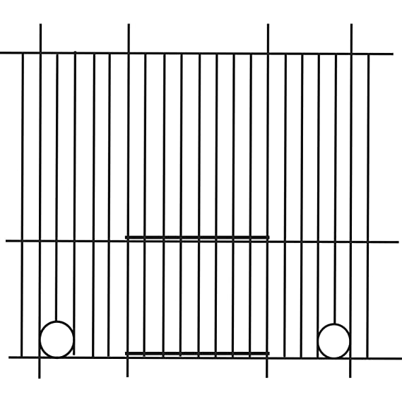 Pennine - Rejilla frontal para jaula de pinzón (60cm X 38cm ...