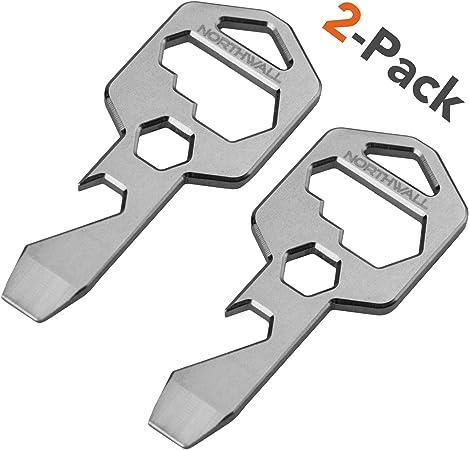 Stainless Steel Wrench Keychain  End Pliers Key Rings Mini Nice Bottle Opener