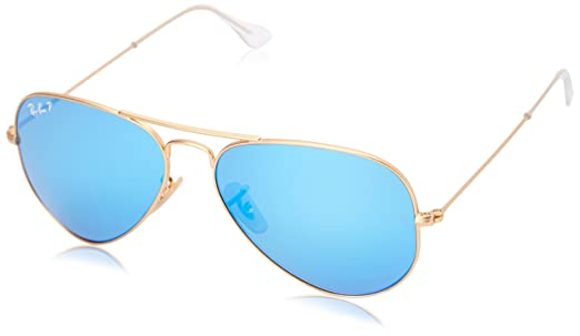 RAY BAN unisex - adults 3025 Sunglasses, matte gold