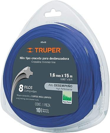 Truper HTA-65 - Cuerda de trípode de cruz (1,6 mm): Amazon.es: Jardín