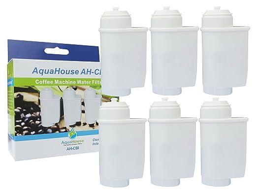 3x AquaHouse AH-CBI Compatible para Brita Intenza Filtro de agua ...