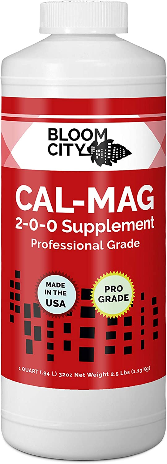 Bloom City Professional Grade Ultra Pure Cal-Mag Growing Fertilizer