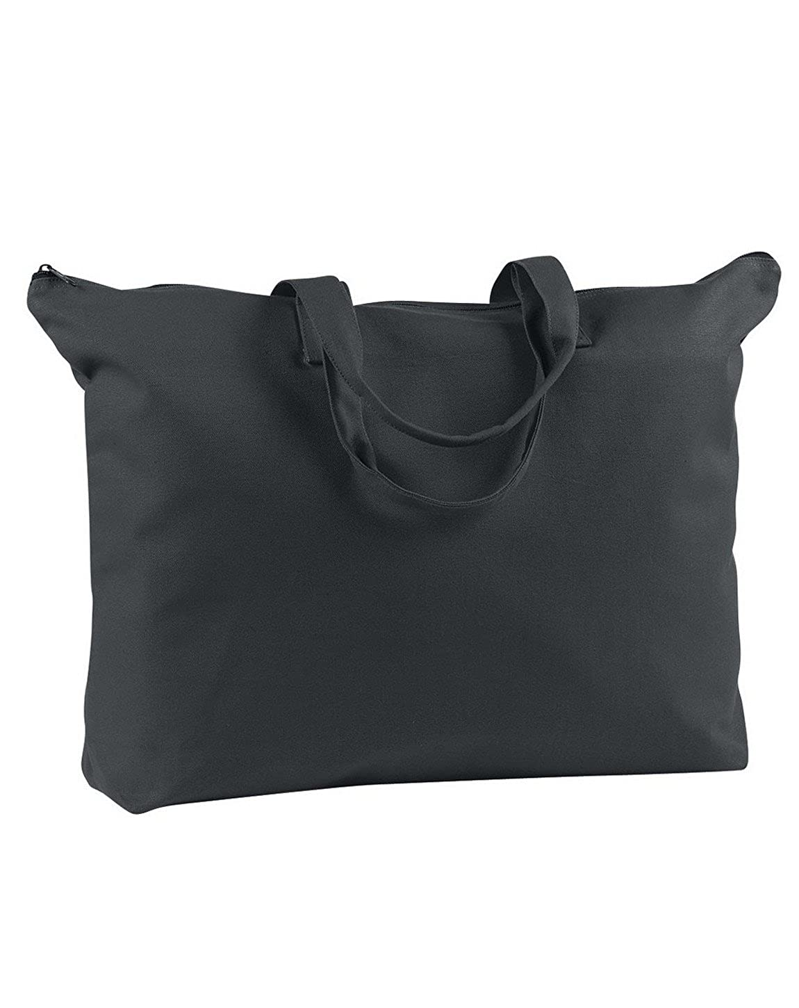 BAGedge BE009 Canvas Zippered Book Tote