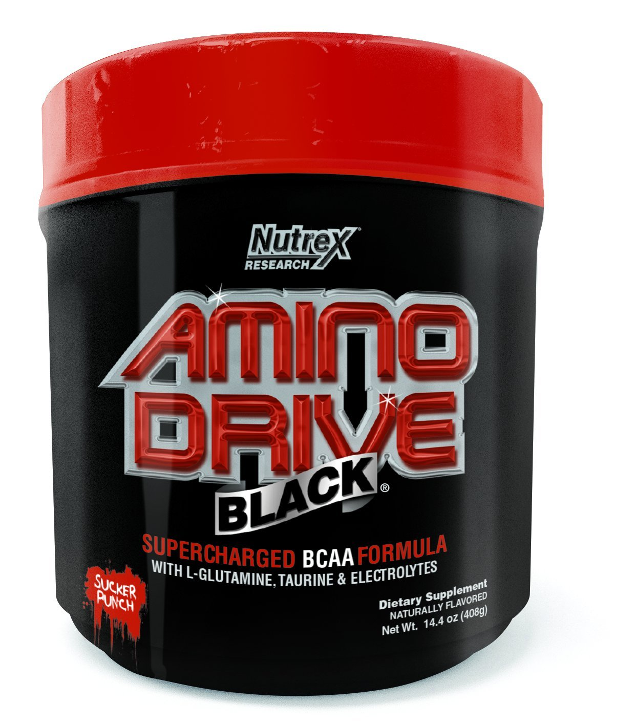 Nutrex Research Amino Drive Sucker Punch, 14.4 Ounce