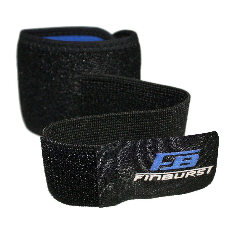 FinBurst Muñequera Deportiva - Ideal Para el Gym, Túnel Carpiano, Padel, Tenis, Tendinitis etc. - Para Hombre y Mujer (1 pieza)