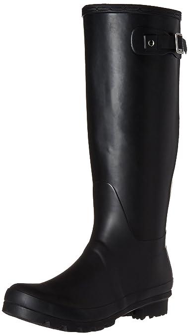 c2c7d3710ab9 Womens Original Tall Snow Winter Wellington Waterproof Rain Wellies Boot -  Black - 5-36
