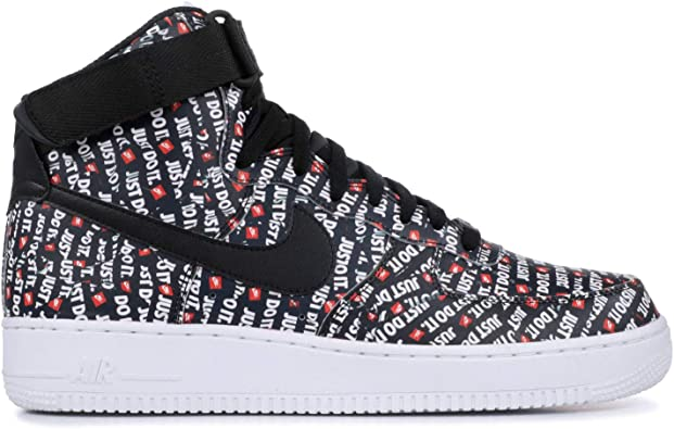 Amazon.com: Nike Air Force 1 High '07 LV8 (Just Do It): Shoes