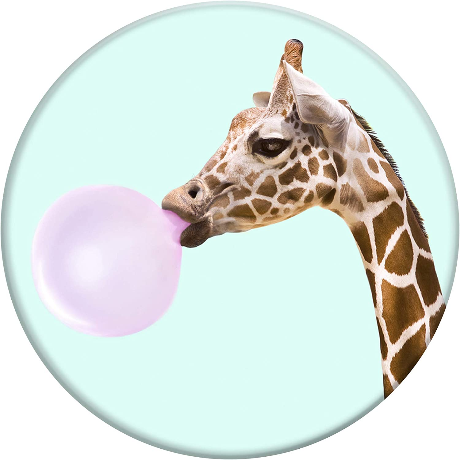 Collapsible Grip /& Stand for Phones and Tablets PopSockets Bubblegum Giraffe