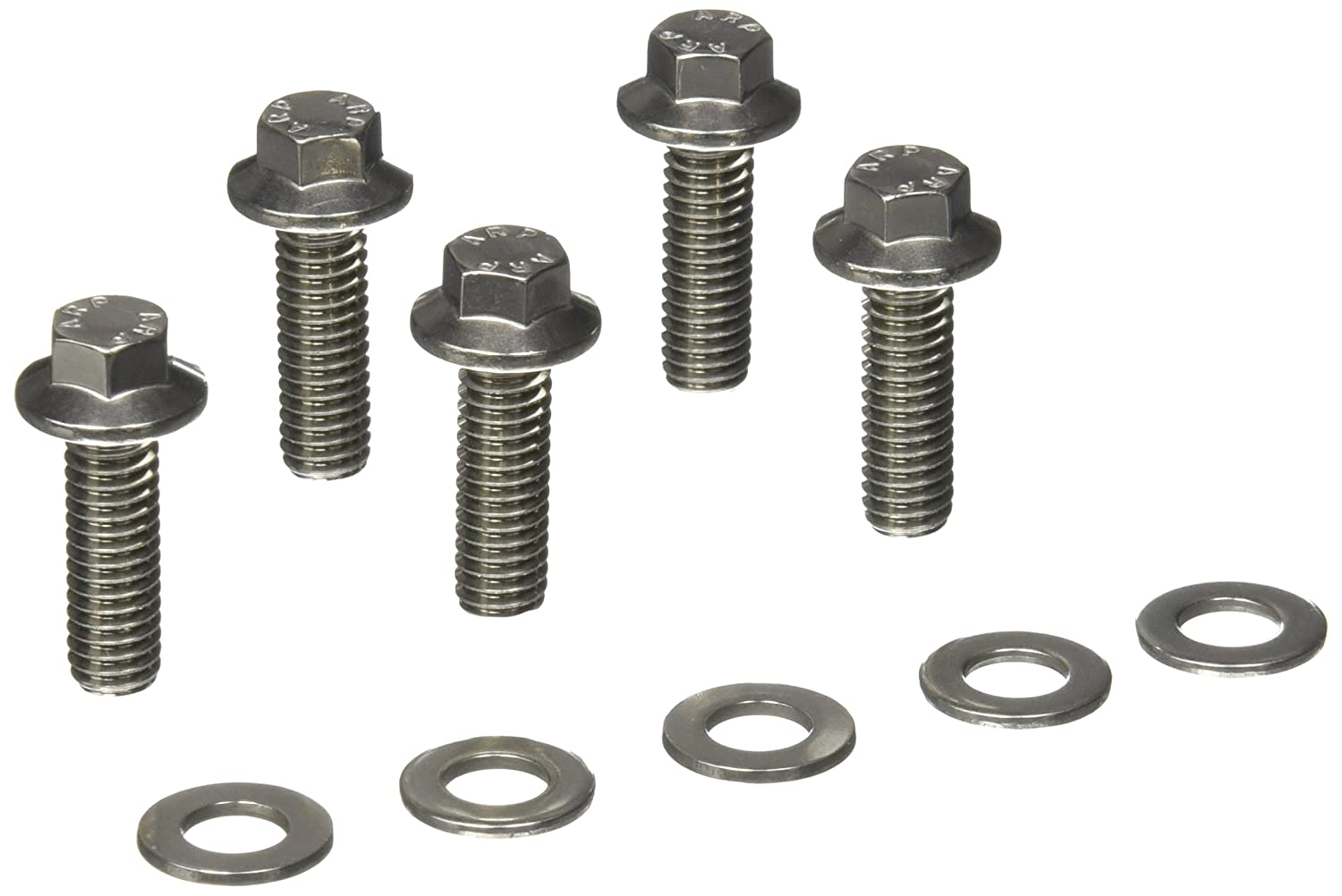 Pack of 5 ARP 6221000 Stainless Steel 5//16-18 Hex Bolts