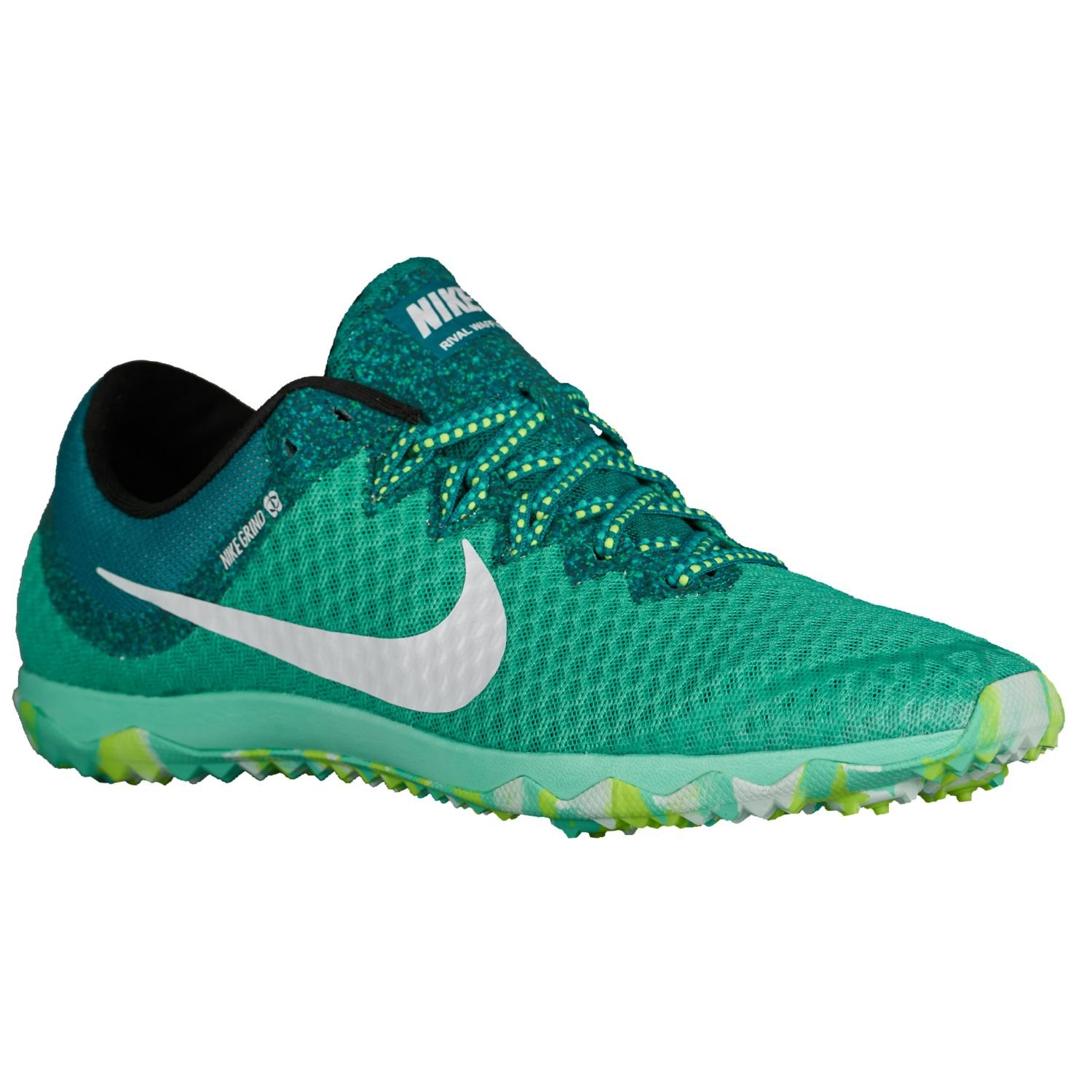 17819f97d93 Nike Zoom Rival Waffle Womens Running Shoes Clear Jade 9 US Womens Clear  Jade White  Amazon.in  Shoes   Handbags