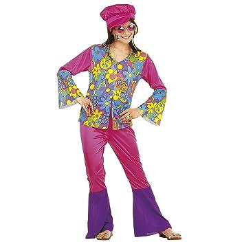 WIDMANN Widman - Disfraz de hippie años 60s para niña, talla 8-10 ...
