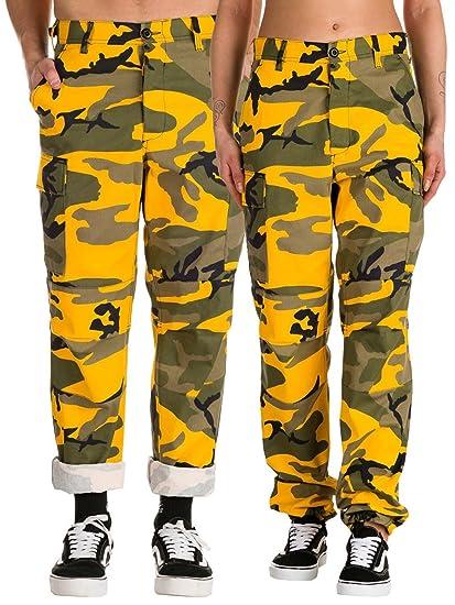 nuovo arrivo e98e8 29ca4 Rothco BDU Pants Stinger Yellow Camo, Medium