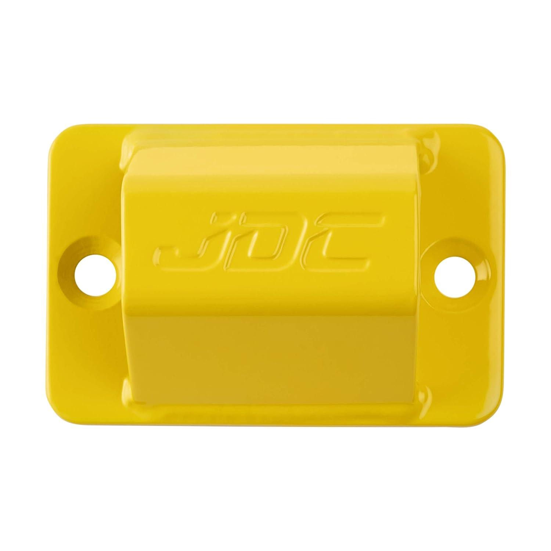 Sphere Pro JDC Anclaje Al Suelo De Acero Endurecido De Alta Resistencia para Motocicleta Amarillo