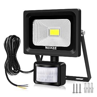 MK 10W Projecteur LED avec Détecteur de Mouvement 1000lumen