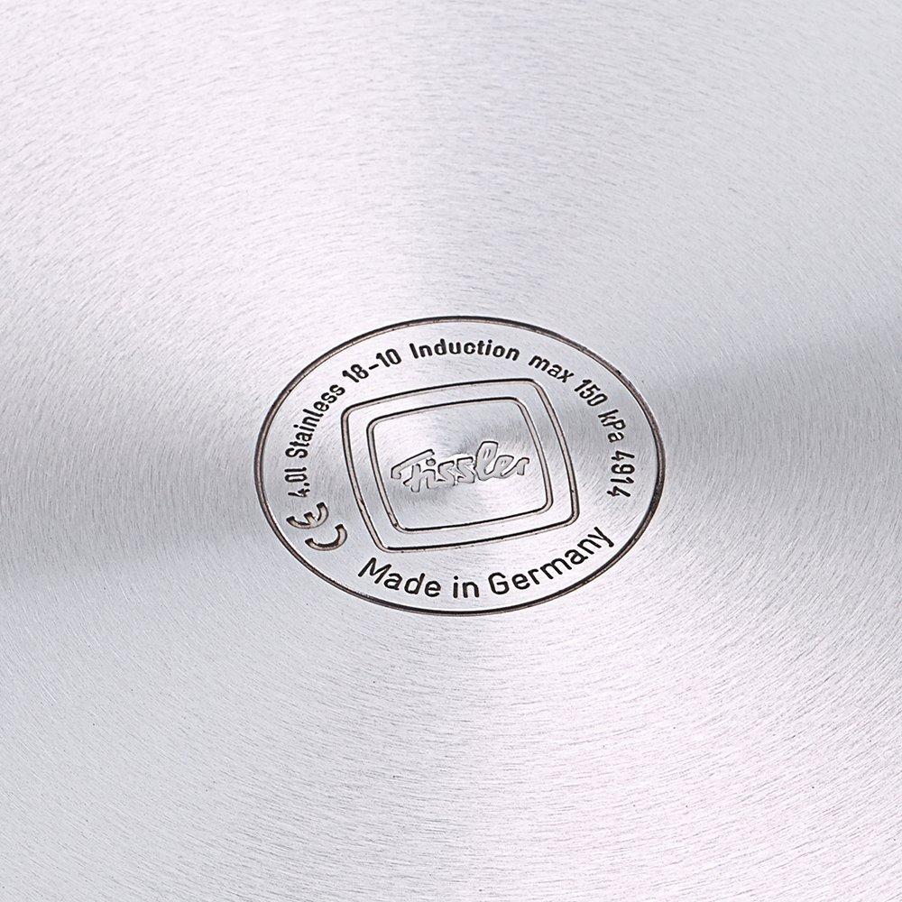 36.5 x 23 x 46.5 cm Stainless Steel Silver Fissler Vitaquick Pressure Cooker 26cm//8L