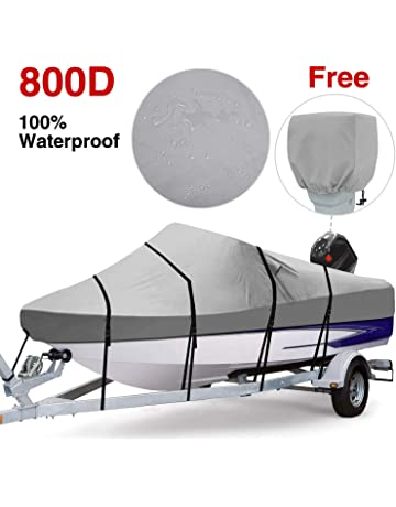 BLUE BOAT COVER FITS SEA RAY 185 SPORT NO TOWER 07 08 09 10 11