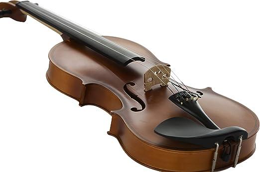 Stretton Payne - Violín acústico para estudiantes, tamaño completo 4/4, con funda, arco y resina: Amazon.es: Instrumentos musicales