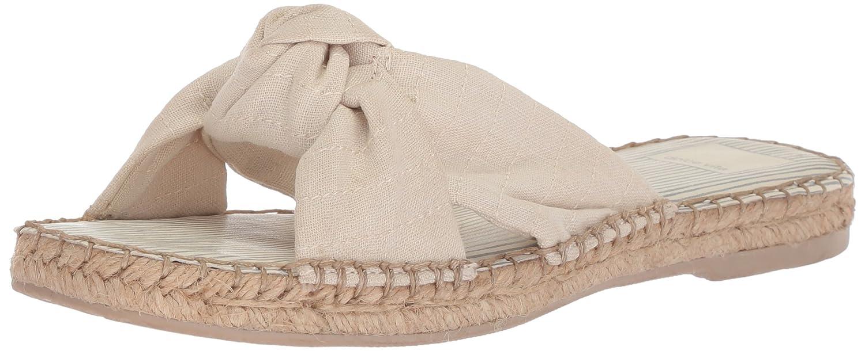Dolce Vita Women's Benicia Slide Sandal B078BQT2P1 6.5 B(M) US|Off White Linen