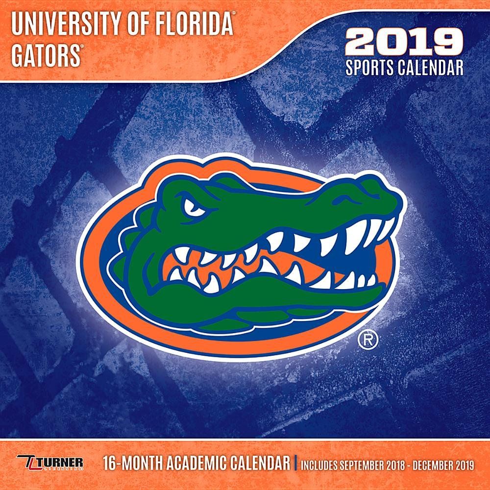 University Of Florida 2019 Calendar University of Florida Gators 2019 Calendar: Inc. Lang Companies