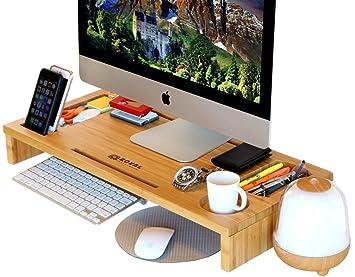 amazon com royal craft wood computer monitor stand riser laptop rh amazon com computer monitor stands for desktop