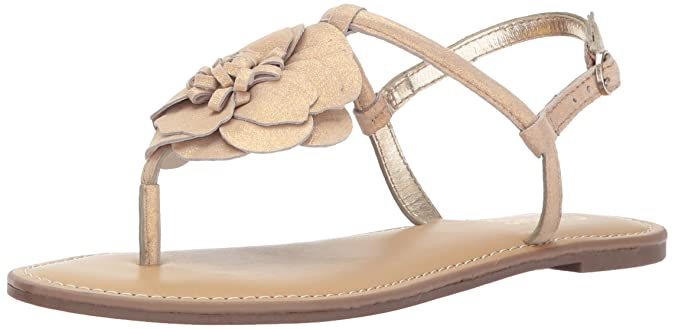 Carlos by Carlos Santana Women's Adalyn Sandal, Sunny Gold, 7.5 Medium US