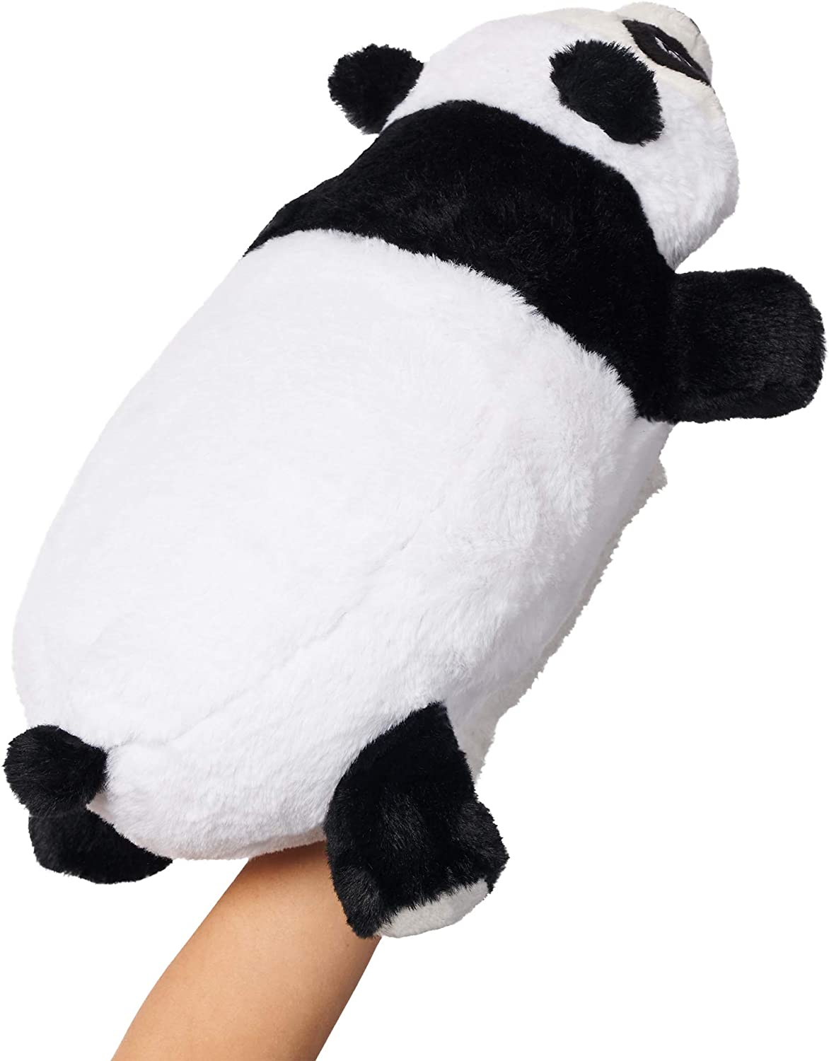 The Perfect Companion While Playing at Home or Traveling on an Airplane Panda Kids Travel Pillow Snuggle Glove
