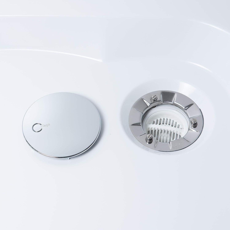 Haarsieb Kompatibel mit Tempoplex Ablaufgarnitur Modell und kompatibel mit Modelnummer 6961, 6962, 6963