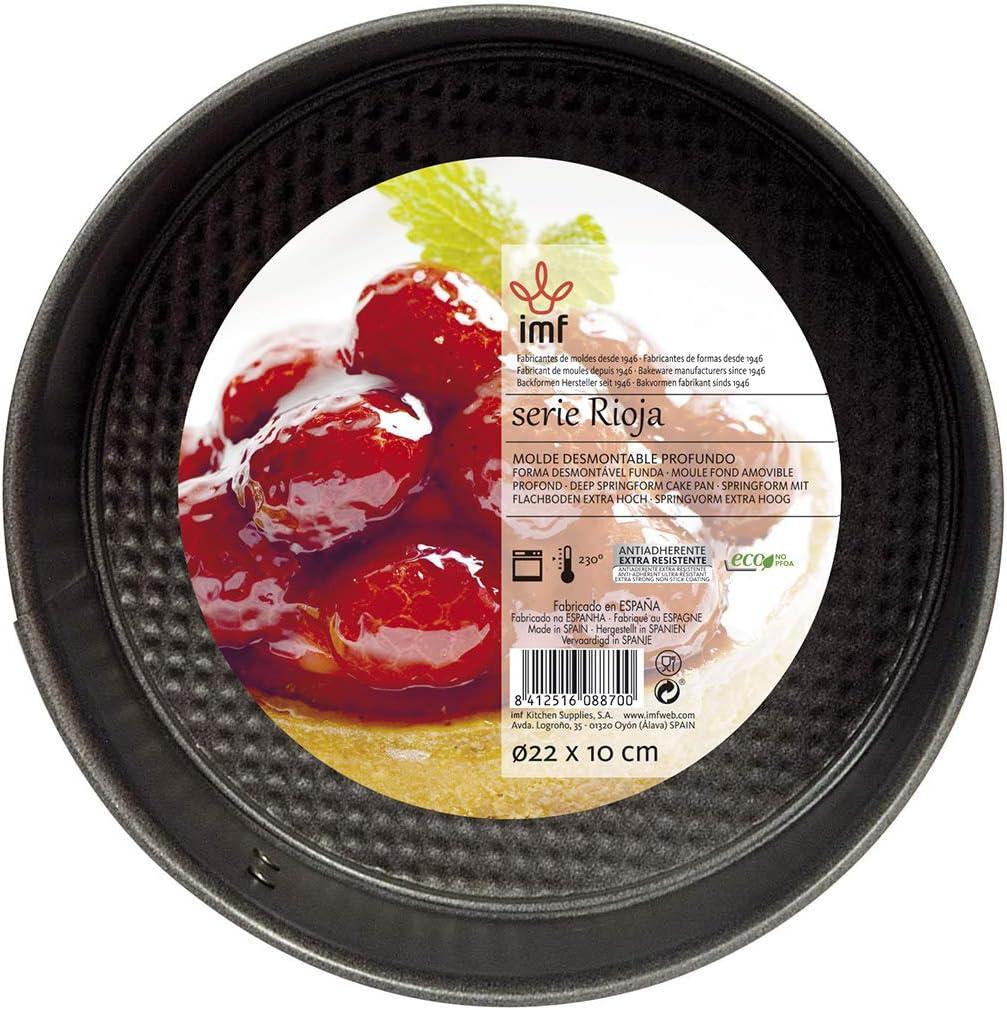 IMF Stampo smontabile Rosso 24/x 10/cm Acciaio