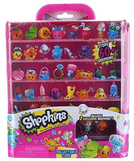 Amazon Shopkins Collectors Case Toys Games