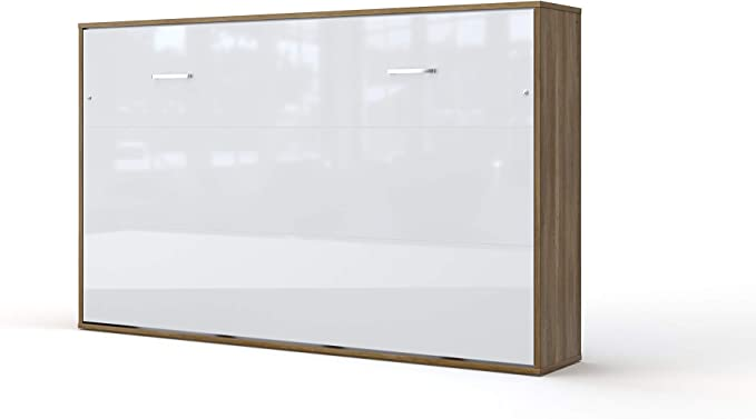 Armario cama plegable de pared horizontal con cama plegable ...