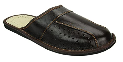 World of Leather Mens House Slippers | Genuine Leather | 02 (7)