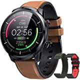 Reloj Inteligente Hombre, Hommie Smartwatch Hombre de Pantalla Táctil Ccompleta Impermeable IP68, Pulsera de Actividad…