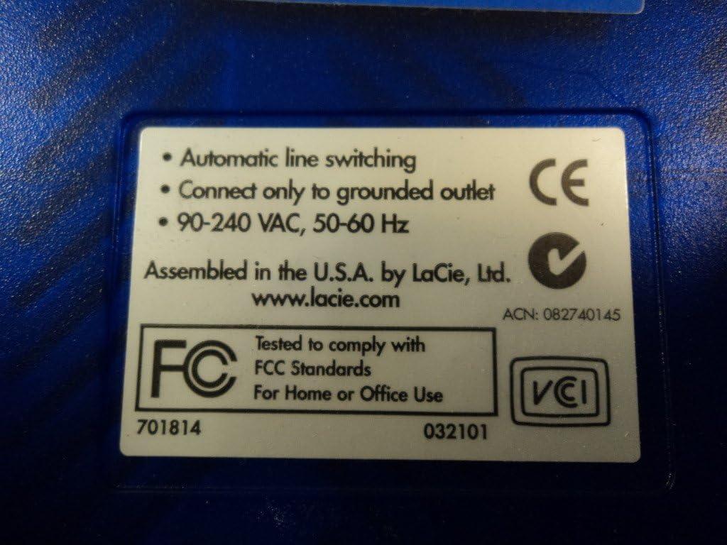 LaCie Compact Disc Rewriteable CD-RW 16x10x40x External 11520671