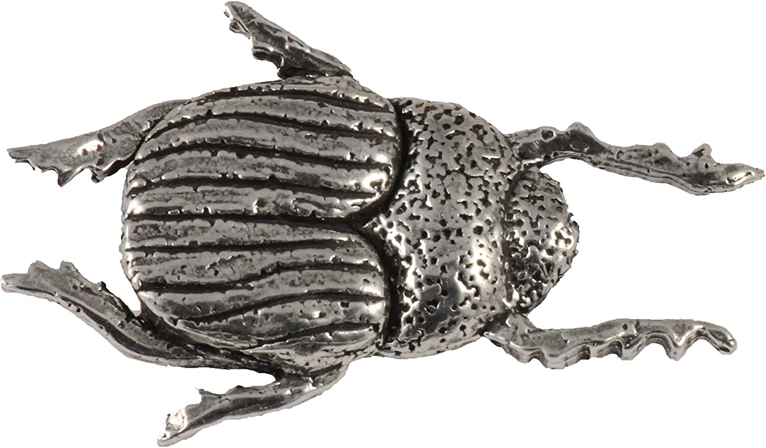 Jewelry A035 Beetle Scarab Insect Pewter Lapel Pin Brooch