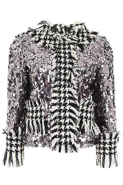 Dolce & Gabbana - Chaqueta - para Mujer Grau/Violett Talla de la Marca 42