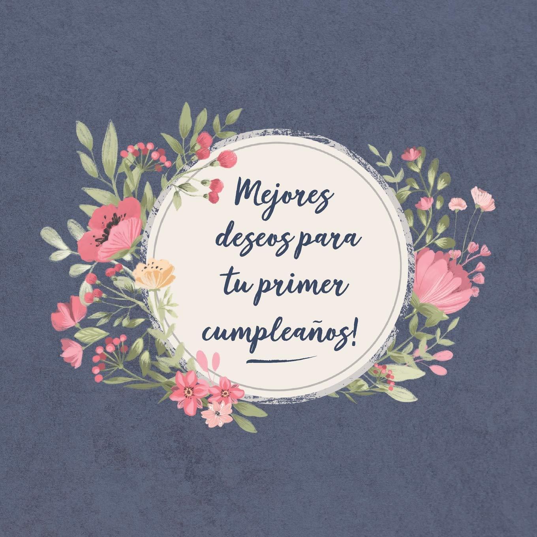 Mejores deseos para tu primer Cumpleaños: El libro de firmas ...