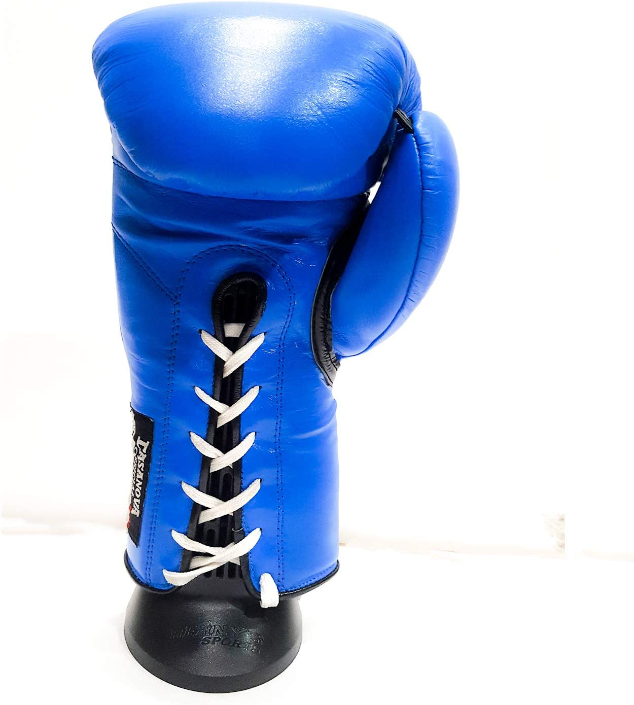 Blue, 16 oz Casanova Professional LACE-UP Boxing Gloves