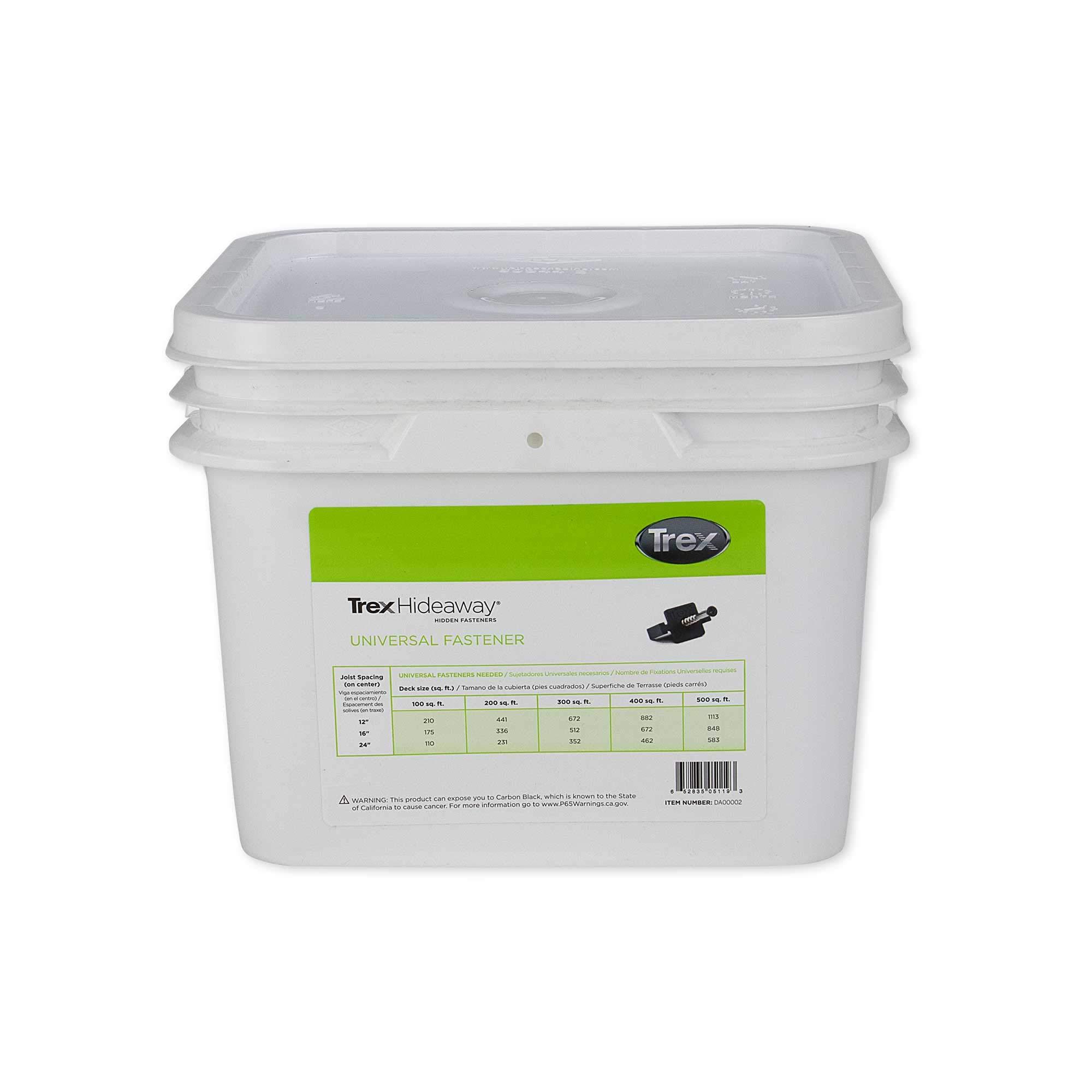 Trex Hideaway Universal Hidden Deck Fastener Clip 500 SQFT Bucket