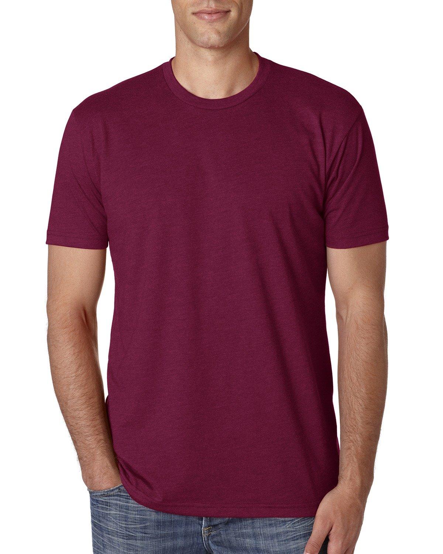 Next Level Apparel メンズ CVC クルーネック ジャージ Tシャツ B014WD70I0 Medium,Cardinal|レッド レッド Medium,Cardinal